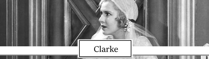 Mae Clarke Topper