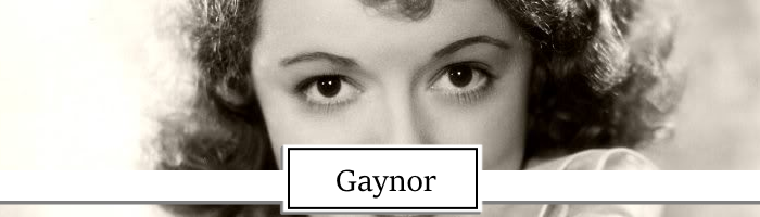 Janet Gaynor Topper