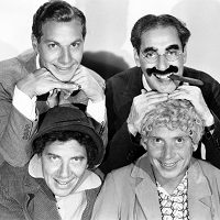 The Four Marx Brothers Pre-Code Hollywood Actors Comedians