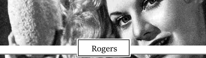 Ginger Rogers Topper