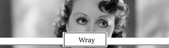 Fay Wray Topper