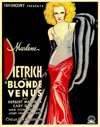 Blonde Venus  poster essential pre-code list