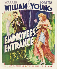 EmployeesEntrance  poster essential pre-code list
