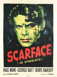 Scarface poster essential pre-code list