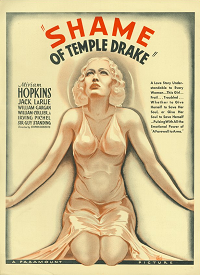 ShameOfTempleDrake  poster essential pre-code list