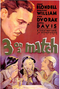 ThreeOnAMatch poster essential pre-code list
