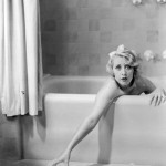 Joan Blondell bathtub