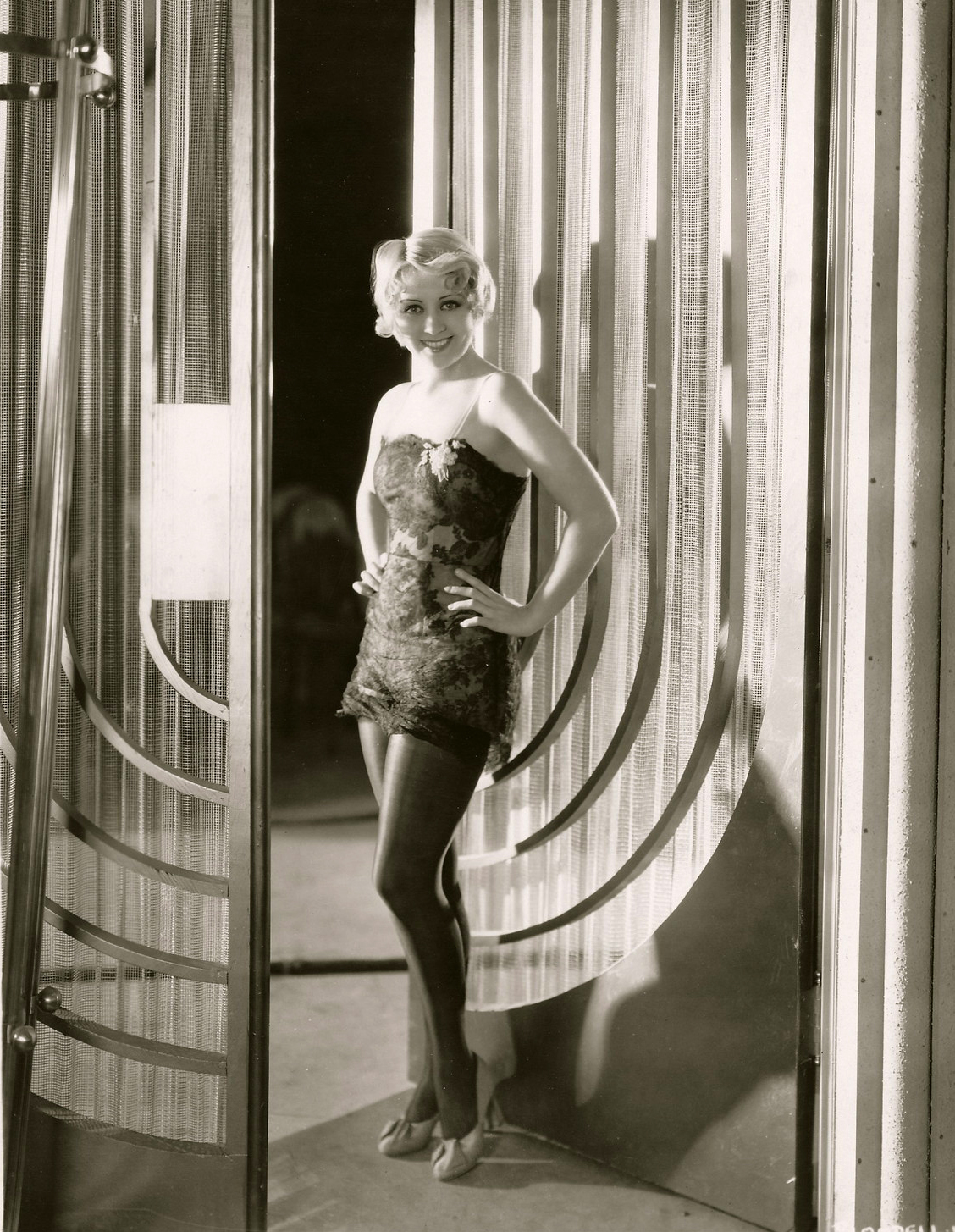 Joan Blondell nightgown