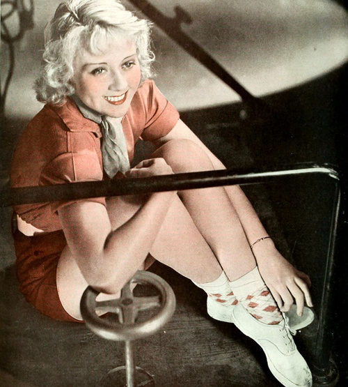 Joan Blondell color valve