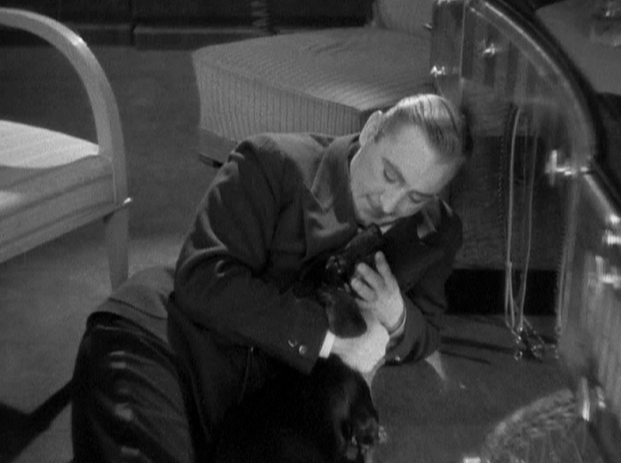 Meanwhile, here is the Baron with his daschund, as I continue my quest to someday make that Pre-Code Puppies site. It will be quite scandalous, I assure you.