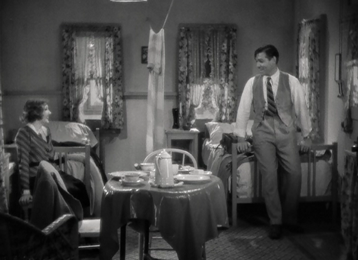 Creating a breezy feeling of real human interaction in such a manufactured scenario is thanks to Colbert and Gable's great chemistry.