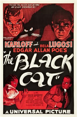 Black Cat 1934 Poster 1