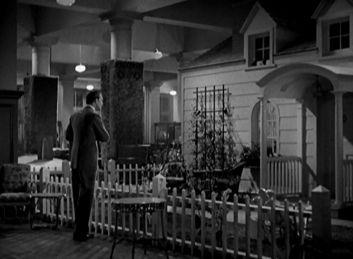 Much like how the film pokes at the Revolutionary ideaology, it also takes a swipe at the idea of traditional American families and home. Lecherous Anderson discovers Madeline here, where they will play with the conventions of a domestic life in a demonstration of what a farce the comforts of family had become during the Depression.