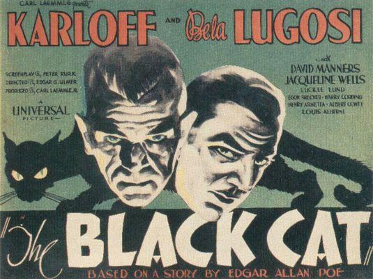 Black Cat 1934 Poster 2