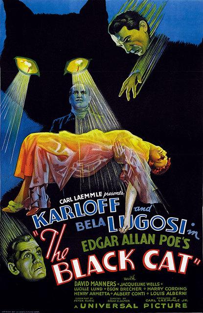 Black Cat 1934 Poster 3