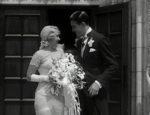 My wife loved Blondell's wedding gown. That is some nice work.