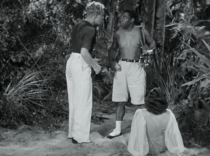 Clarence Muse has a pretty funny cameo as a golfer. Who, uh, doesn't wear a shirt for some reason.