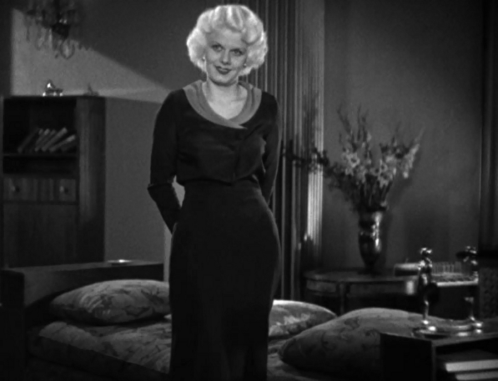 Let's be honest, Cassie's biggest trouble is that she looks a lot like Jean Harlow.