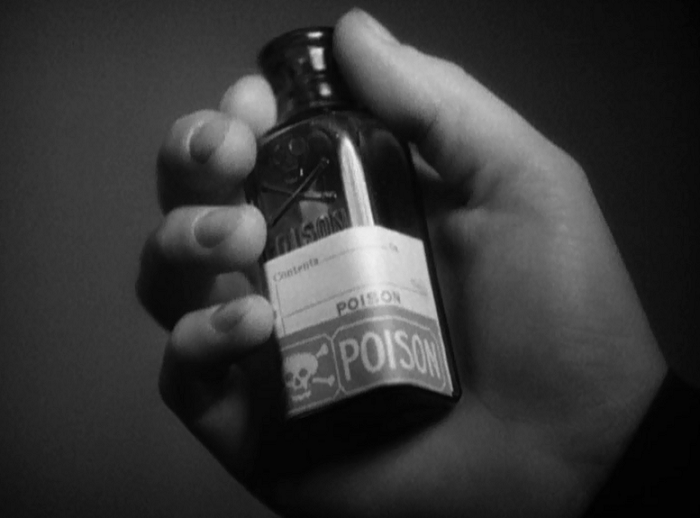I like how there's nothing else on the bottle. It's just the generic brand of poison.