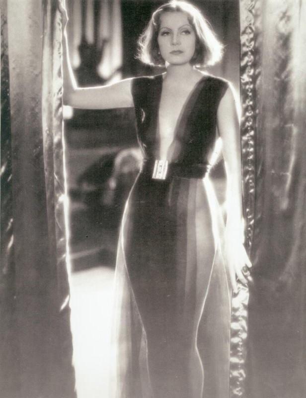 Greta Garbo negligee