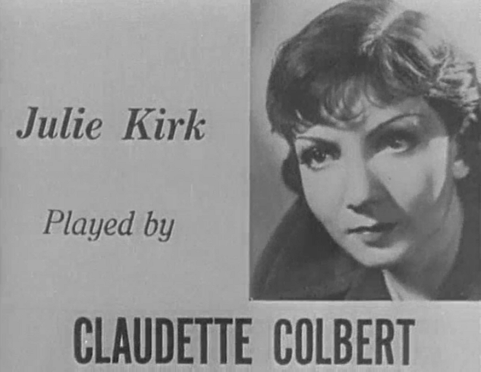I Cover The Waterfront 1933 With Claudette Colbert And Ben Lyon