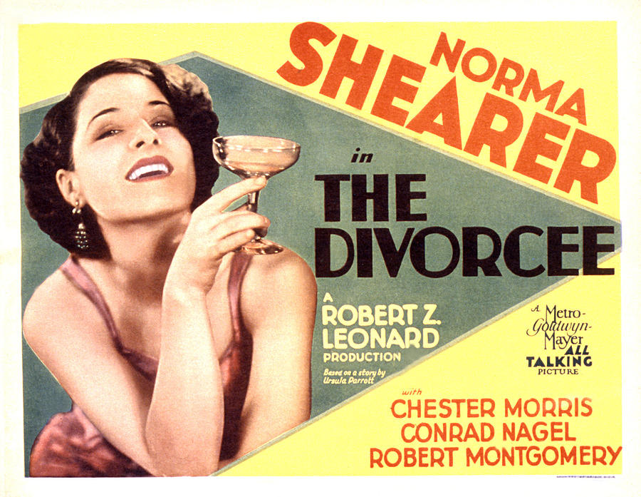 Poster for The Divorcee (1930).
