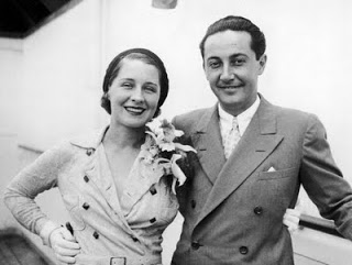 Norma Shearer and Irving Thalberg.