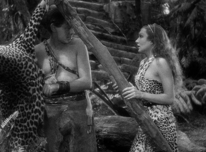 """I want to know what love is... and it may just be a leopardskin bikini."""