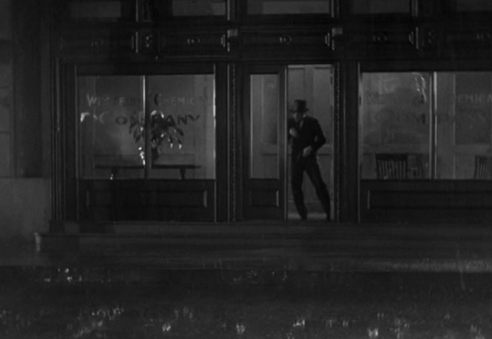 Wellman knows how to shoot a rainy night.