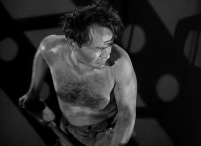 The film, thankfully, doesn't rob us of shirtless Edward G. Robinson.