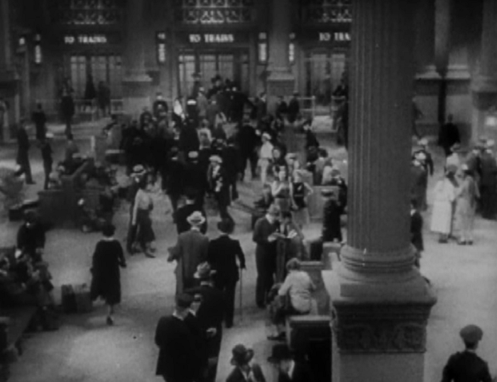 The train station of the 30s.
