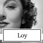 Myrna Loy actress topper