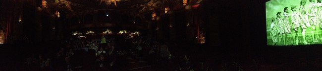 The inside of the Chinese Theatre. I know, it's dark.