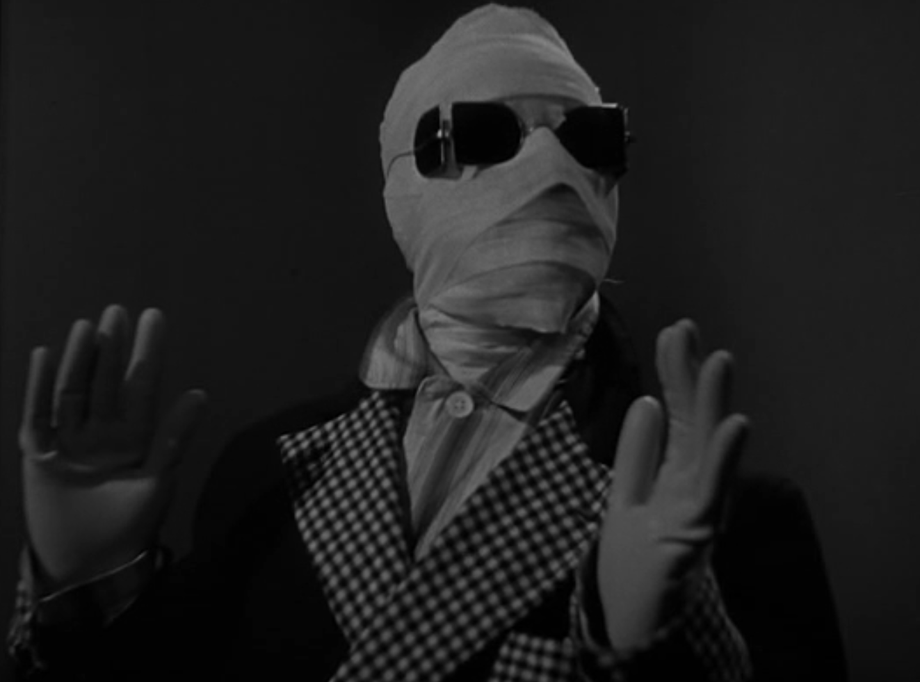 the invisible man 1933 review claude rains and gloria invisible man 1933 pre code universal horror