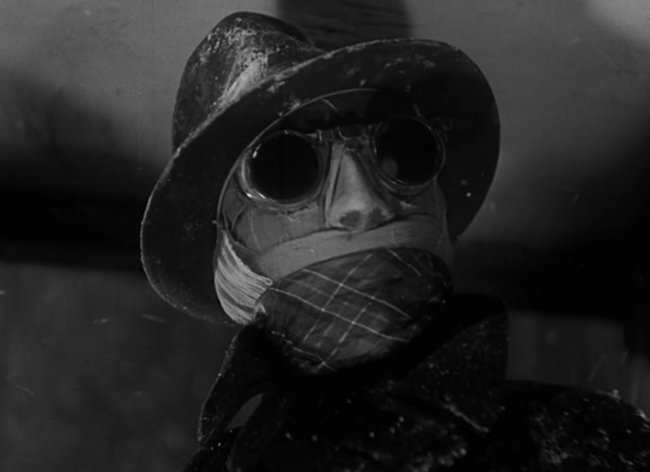 Invisible Man 1933 pre-code universal horror