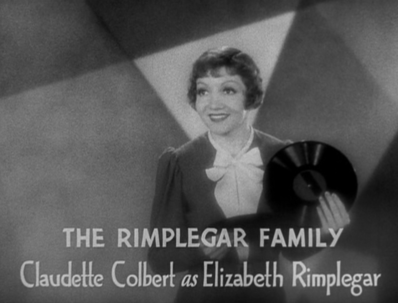 Tom Boland Ford >> Three Cornered Moon (1933) Review, with Claudette Colbert – Pre-Code.Com