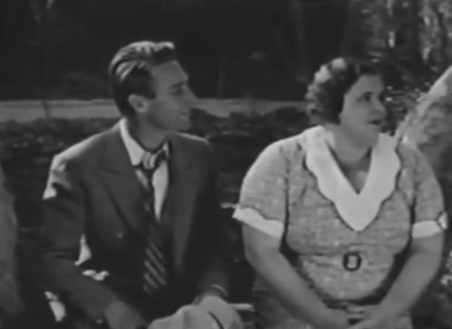 Probably my reaction if Randolph Scott kept looking at me, too. Especially since he'd have to be a zombie.