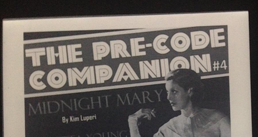 The Pre-Code Companion 4