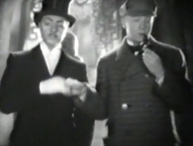 The Philo Vance/Sherlock Holmes team-up sketch is typical of the movie-- a good idea done too broad to be very funny.