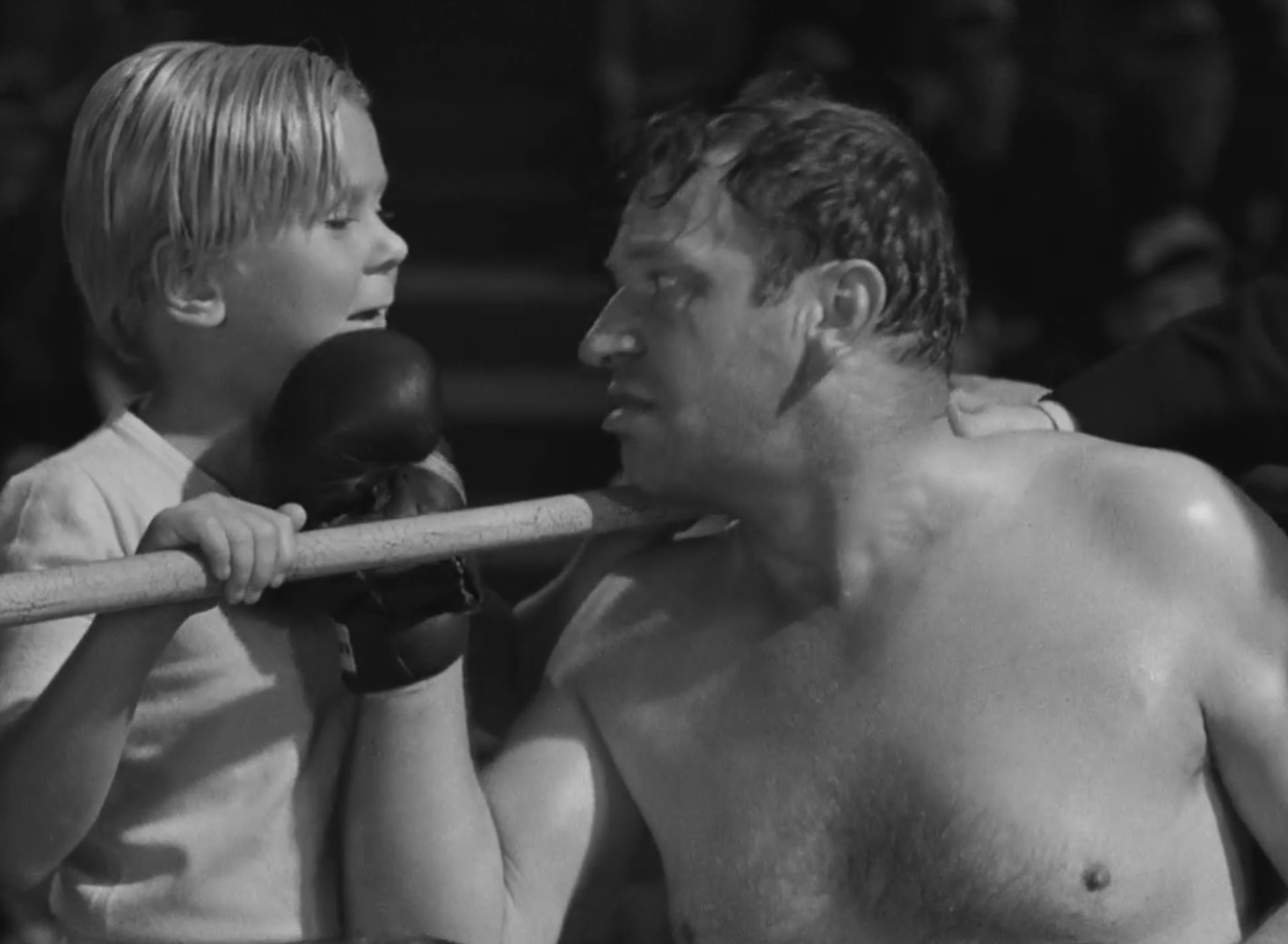 The Champ 1931 Review With Wallace Beery And Jackie Cooper Pre Code Com