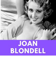 Blondell nackt Joan  Joan Crawford