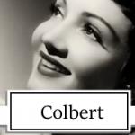 Claudette Colbert Topper