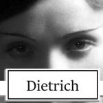 Marlene Dietrich Topper