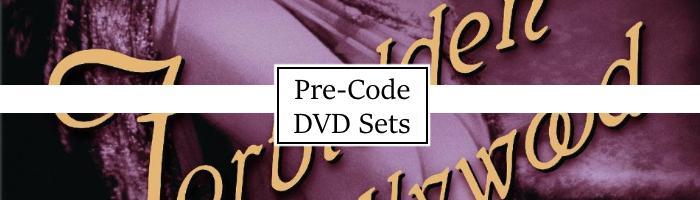Pre-Code DVD Sets