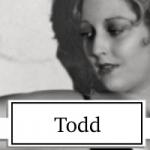 Thelma Todd Topper