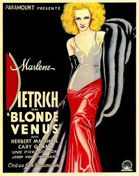 Blonde Venus poster essential pre-code list