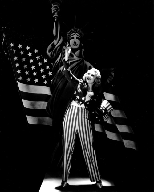 Joan Blondell patriotism god bless usa