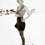 Joan Blondell unzipping scandalous