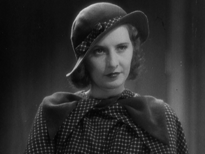 See, now that's the kind of facial expression Stanwyck was known for.