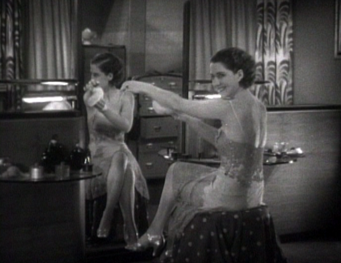 Private Lives Norma Shearer lingerie